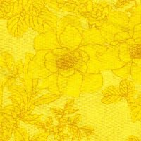 "108"" Wide Backing, Tonal Bouquet, Yellow, SKU 46630-1028"