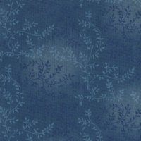 "108"" Wide Backing, Tonal Vine, Smokey Blue, SKU 47603-207"