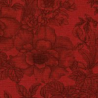 "108"" Wide Backing, Tonal Bouquet, Red, SKU 46630-1022"