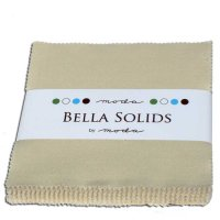 Bella Solids Charm Pack by Moda, Natural, SKU 9900PP 12