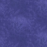 "108"" Wide Backing, Tonal Vine, Purple, SKU 47603-405"