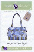 Mini Bow Tucks Tote by Penny Sturges