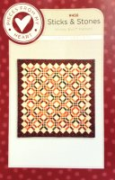 Sticks & Stones Honey Bun Pattern by Sandy Gervais