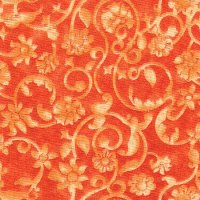 "108"" Wide Backing, Tonal Scroll, Tangerine, SKU 47604-902"