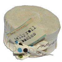 Bella Solids Jelly Roll by Moda, Wheat, SKU 9900JR 12