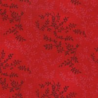 "108"" Wide Backing, Tonal Vine, Bright Red, SKU 47603-205"