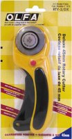 Olfa Ergonomic Rotary Cutter, 45mm