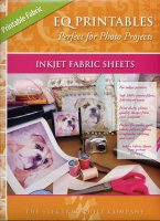 EQ Printables Ink Jet Fabric Sheets