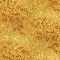 "108"" Wide Backing, Tonal Vine, Gold, SKU 47603-500"