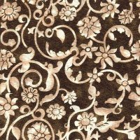 "108"" Wide Backing, Tonal Scroll, Brown, SKU 47604-714"
