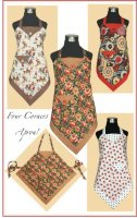 Four Corners Apron! by Vanilla House Designs