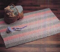 Aunt Philly's Toothbrush Rug - Rectangle & Square