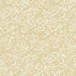 "108"" Wide Backing, White/Teastain, Sm Floral, SKU 21677"